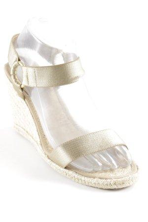 Lauren by Ralph Lauren Wedges Sandaletten beige-creme Beach-Look