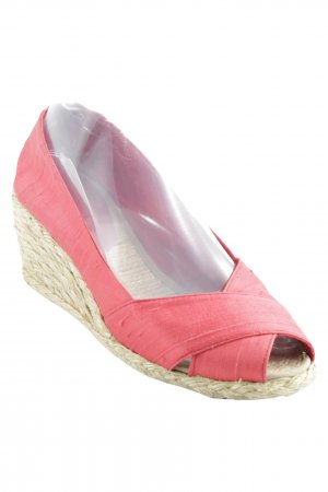 Lauren by Ralph Lauren Wedges Sandaletten beige-rot Casual-Look