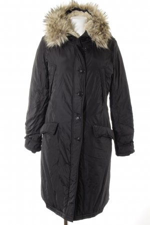 Lauren by Ralph Lauren Winterjacke schwarz Street-Fashion-Look