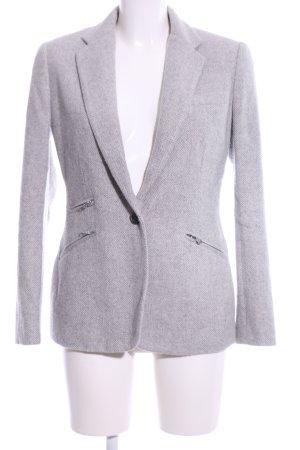 Lauren by Ralph Lauren Blazer in lana grigio chiaro puntinato stile casual