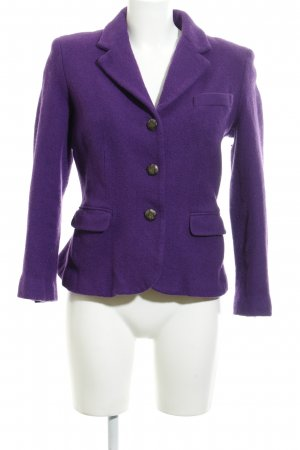 Lauren by Ralph Lauren Wool Blazer dark violet country style