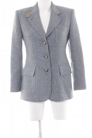 Lauren by Ralph Lauren Wollmantel himmelblau-creme Casual-Look