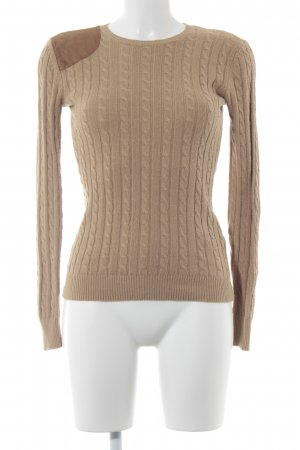 Lauren by Ralph Lauren Cable Sweater beige casual look