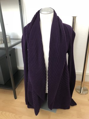 Ralph Lauren Knitted Coat dark violet
