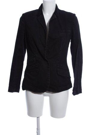 Lauren Jeans Co. Ralph Lauren Denim Blazer black business style