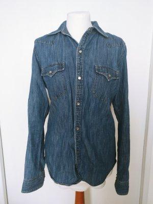 Lauren Jeans Co. Ralph Lauren Jeanshemd Jeans Bluse Langarm