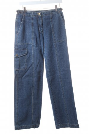 Lauren Jeans Co. Ralph Lauren Marlenejeans blau Street-Fashion-Look