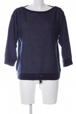 Lauren Jeans Co. Ralph Lauren Rundhalspullover blau Casual-Look