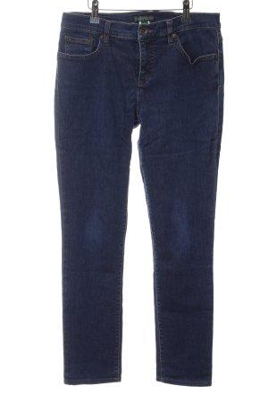 Lauren Jeans Co. Ralph Lauren Slim Jeans blau Casual-Look