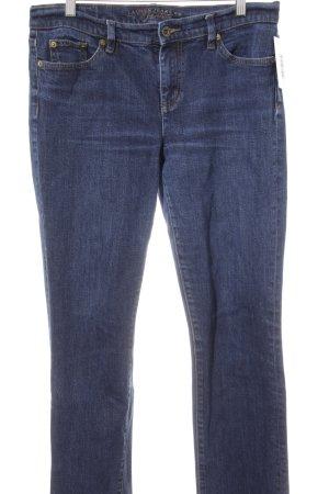 Lauren Jeans Co. Ralph Lauren Slim Jeans dunkelblau Casual-Look