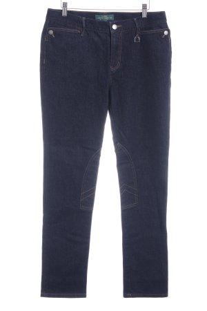 Lauren Jeans Co. Ralph Lauren Straight-Leg Jeans dunkelblau Casual-Look