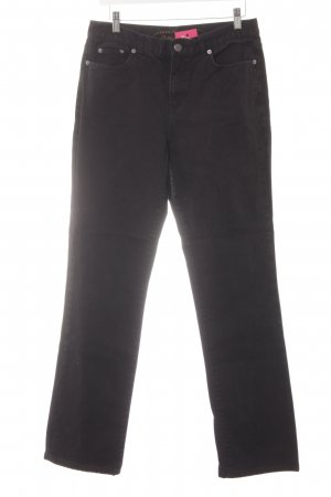 Lauren Jeans Co. Ralph Lauren Straight-Leg Jeans schwarz Casual-Look