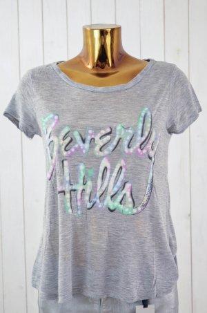Lauren Moshi T-shirt veelkleurig Modal