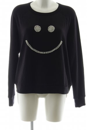 Lauren Moshi Sweatshirt schwarz Casual-Look