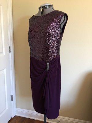Lauren Ralph Lauren 36 S  Kleid  Abendkleid mit Schmuckdetail Neu Silvester