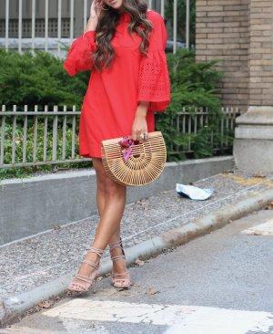Lauren by Ralph Lauren Midi-jurk veelkleurig Gemengd weefsel