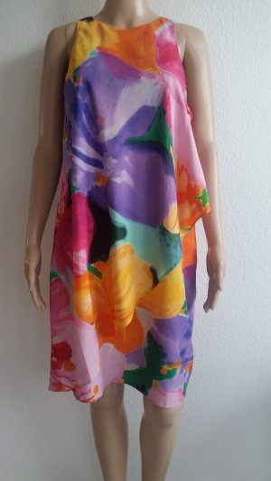 Lauren by Ralph Lauren Midi Dress multicolored polyester