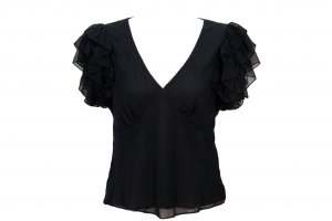 LAUREN Ralph Lauren Top in Schwarz
