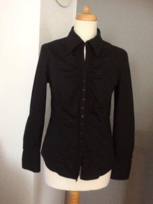 Lauren schwarze Bluse edel /elegant Größe 40