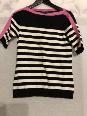 Lauren Shirt Gr. S rosa/schwarz /weiß