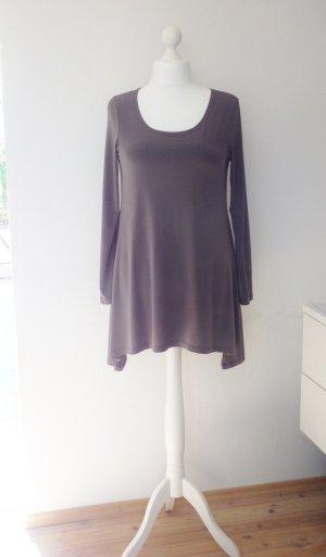 *Lauren Vidal* Paris Tunika Kleid Grau Gr. XL