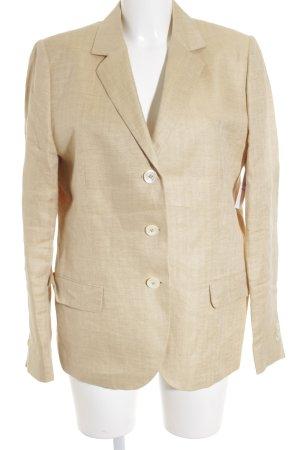 Laurine Tweed blazer zandig bruin gestippeld casual uitstraling