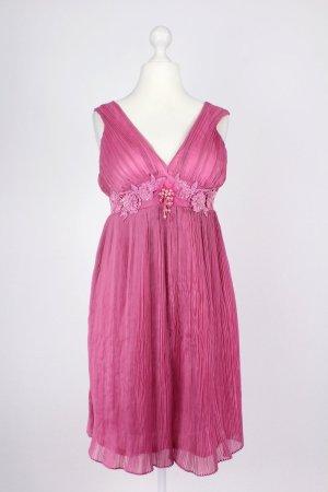 Lautinel Ballkleid mit Perlen pink Größe 3