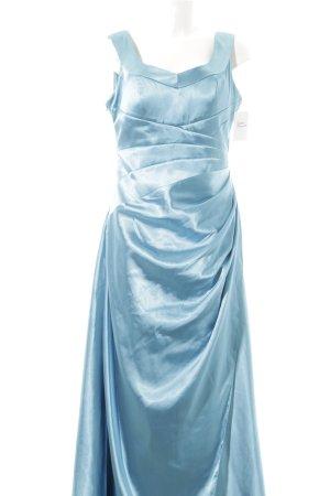Lautinel Paris A-Linien Kleid kadettblau Elegant