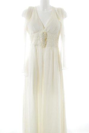 Lautinel Paris Abendkleid hellbeige Elegant