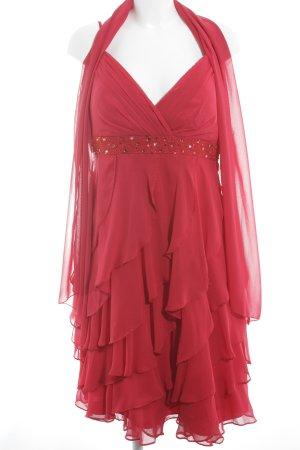 Lautinel Paris Abendkleid rot Elegant