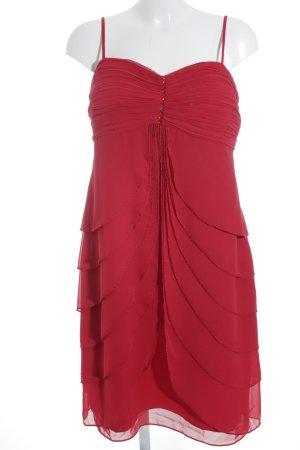 Lautinel Paris Vestido bandeau carmín elegante