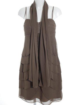Lautinel Paris Vestido bandeau ocre elegante