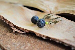 Bungeloorbellen zwart-weidegroen Metaal