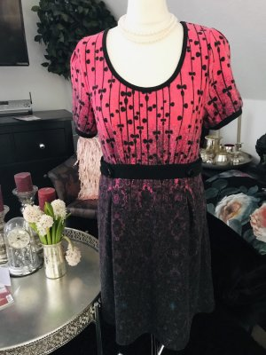 Lavand woll Kleid gr. 40 L rosa grau