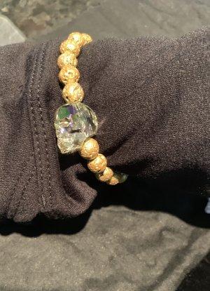 Bracciale di perle oro