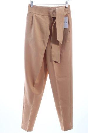 "Lavish Alice Bundfaltenhose ""Camel Sash Tie Belt Crossover Trousers"" camel"