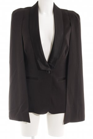 Lavish Alice Long-Blazer schwarz Casual-Look