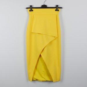 Lavish Alice Skirt yellow cotton