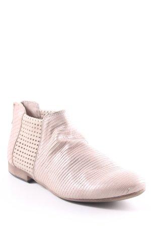 Lavorazione Artigiana Ankle Boots beige Casual-Look