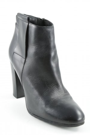 Lavorazione Artigiana Reißverschluss-Stiefeletten schwarz Casual-Look