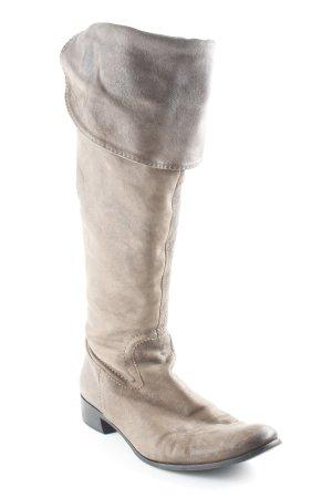 Lavorazione Artigiana Overknees beige Casual-Look
