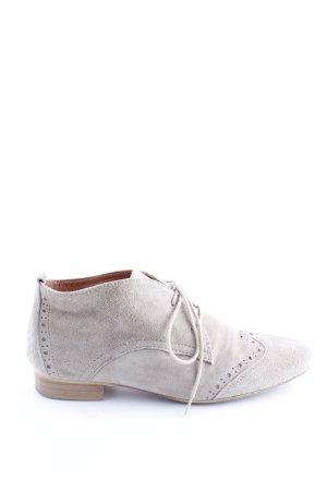 Lavorazione Artigiana Lace Shoes light grey casual look