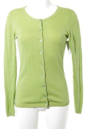 Lawrence Grey Cardigan grasgrün-gelb Casual-Look