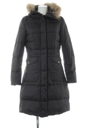 Lawrence Grey Down Coat black casual look