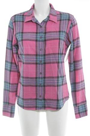 Lawrence Grey Camisa de leñador estampado a cuadros estilo country