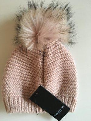 Lawrence Grey Cappellino rosa chiaro-nero