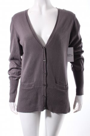 Lawrence Grey Strickjacke grau Casual-Look