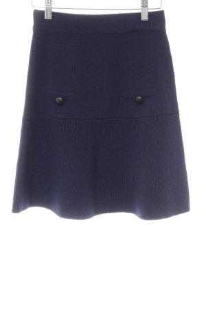 Lawrence Grey Jupe tricotée bleu foncé style urbain