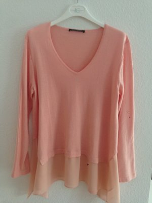 Layering Pullover Luisa Cerano Gr. 42 Fb. Apricot Kaschmir Cashmere