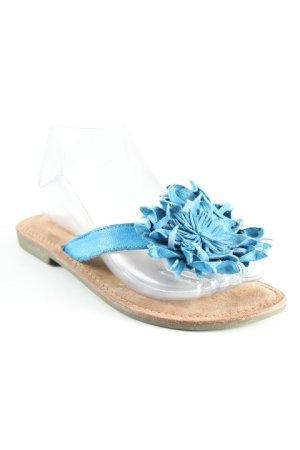 Lazamani Flip Flop Sandalen kornblumenblau Casual-Look